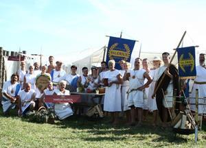 Koranti Rogoznica zmagovalci XII. Rimskih iger