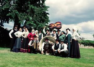 Gostovanje Folklorne skupine v češkem Lanškrounu