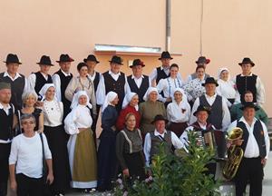 Folklorna skupina je gostovala v srbski Babušnici