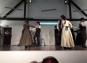 Poročilo iz Letnega koncerta Folklorne skupine