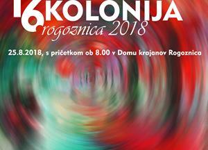Napovedujemo: Likovna kolonija Rogoznica 2018